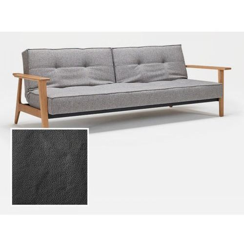 Sofa Splitback Frej czarna 582  741010582-741027-5-741027020-2, INNOVATION iStyle