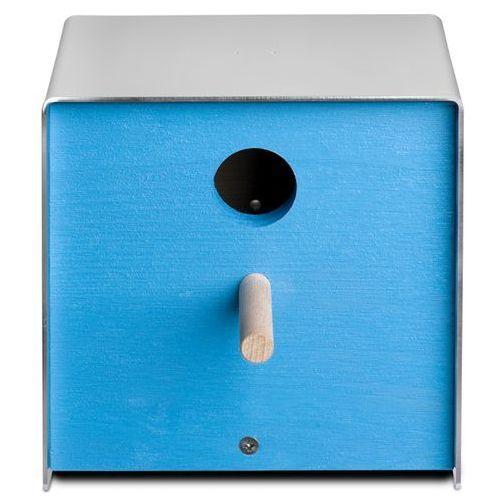 Budka dla ptaków Keilbach Twitter niebieska, produkt marki Produkty marki Keilbach