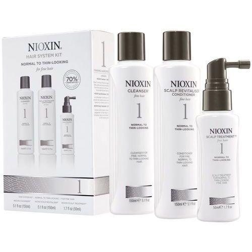 Nioxin zestaw pielęgnacyjny System 1 włosy cienkie i naturalne - szczegóły w dr włos