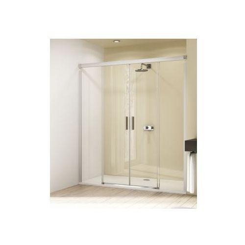 HUPPE DESIGN ELEGANCE 4-kąt drzwi suwane 2-częściowe ze stałymi segmentami 8E0501 (drzwi prysznicowe)