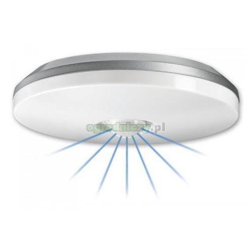 STEINEL Lampa z czujnikiem ruchu i zmierzchu DL 850 B - uderzenioodporna, biała z kat.: pozostałe oświetlenie zewnętrzne