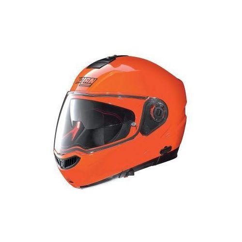 Kask Szczękowy  N104 Evo Hi-Visibility N-Com (Pomarańczowy), marki Nolan do zakupu w MotoKanion