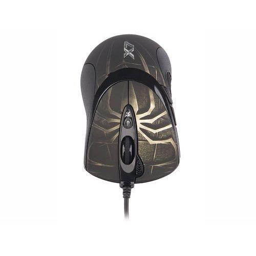 A4TECH Mysz  EVO XGame Laser Oscar X747 Brown Fire z kat. myszy, trackballe i wskaźniki