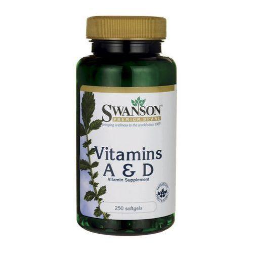 Swanson Witamina A & D3 250 kaps.