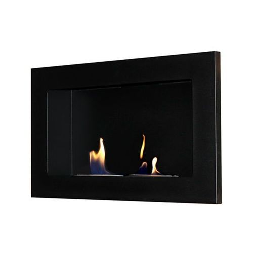 Biokominek dekoracyjny Flat mały (czarny) EcoFire - oferta [1532ea02116215d4]