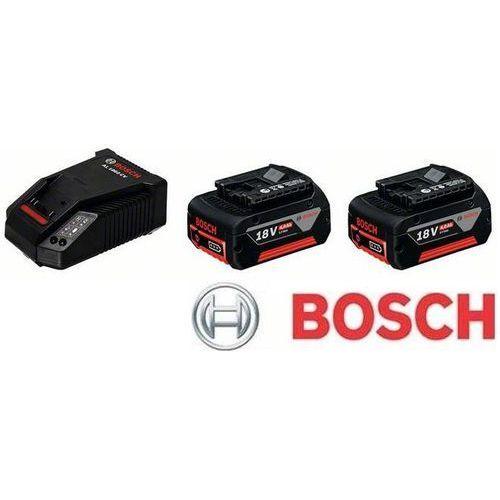 BOSCH Zestaw startowy 2 x GBA 18 V 4,0 Ah M-C + AL 1860 CV Professional (1.600.A00.2U5), kup u jednego z partnerów