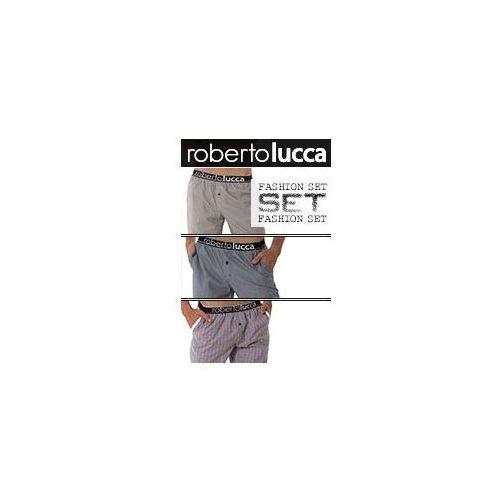 SET Roberto Lucca 3pack Spodnie domowe 15/25 - produkt z kategorii- spodnie męskie