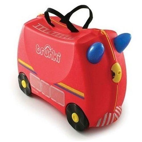 Walizka TRUNKI Wóz strażacki Freddie jeżdżąca - produkt dostępny w Media Expert
