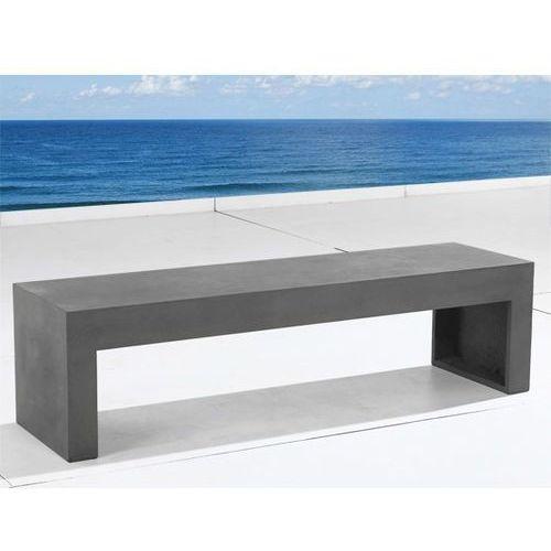 Lawka betonowa – Lawka XXL - Lawka ogrodowa – Lawka betonowa – TARANTO, Beliani