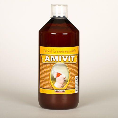 AMIVIT E - 1000 ml - MULTIWITAMINA DLA PTAKÓW EGZOTYCZNYCH