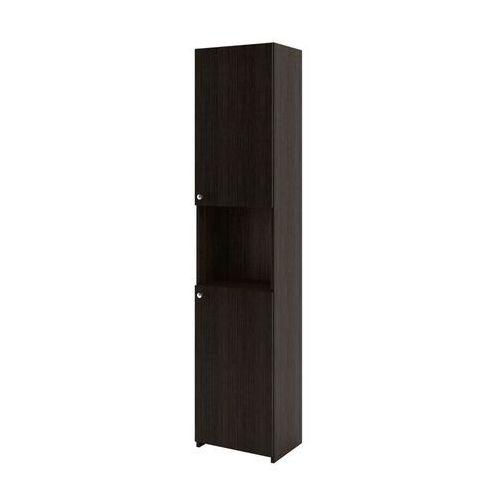 AQUAFORM szafka wysoka Maxi II legno ciemne (słupek) 0412-261620 - produkt z kategorii- regały łazienkowe