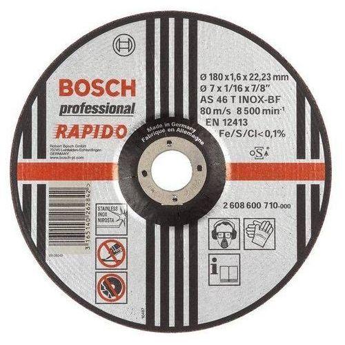 TARCZA FLEX 42 230x1,9x22,2 AS 46 T INOX BF RAPIDO STANDARD BOSCH ze sklepu narzedzia-online.pl