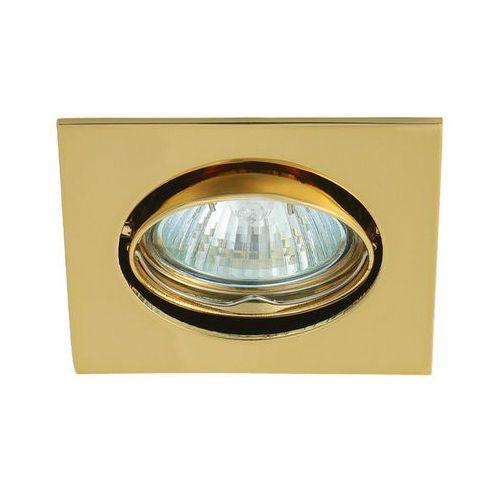 Oprawa punktowa DL22 ruchoma złota z kategorii oświetlenie