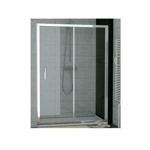 SANSWISS TOP-LINE drzwi rozsuwane dwuczęściowe 140 TOPS214005007 (drzwi prysznicowe)