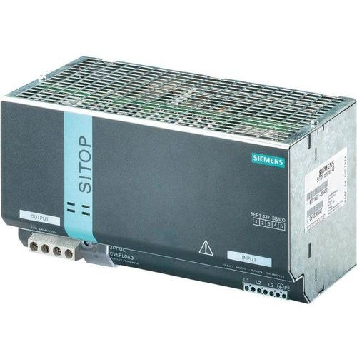 Artykuł Zasilacz na szynach Siemens 6EP1437-3BA00, 24 V, 40 A z kategorii transformatory