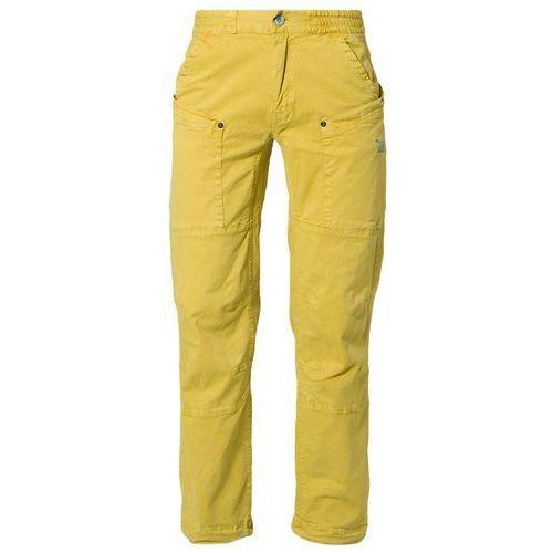 Produkt z kategorii- spodnie męskie - Salewa ESPONTAS Spodnie materiałowe żółty