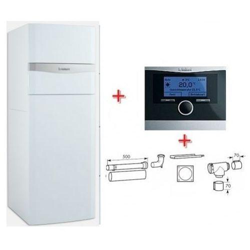 Vaillant VSC ecoCOMPACT 206/4-5 150 + calorMATIC 470 + zestaw do szachtu 303920 - (Pakiet), towar z kategorii: Kotły gazowe