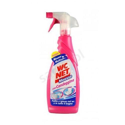 WC NET Mousse - Płyn do czyszczenia WC i łazienki z wybielaczem (600 ml) (wybielacz i odplamiacz do ubrań)