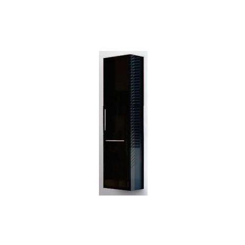 AQUAFORM szafka wysoka z koszem Amsterdam czarna (słupek) 0415-202912 - produkt z kategorii- regały łazienk