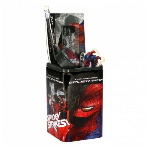 Zestaw przyborów szkolnych w puszce Amazing Spider-Man - oferta [e5534d780795e613]
