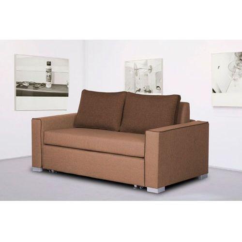 DEBRI sofa dwuosobowa 140 cm - beżowy, Meble tapicerowane
