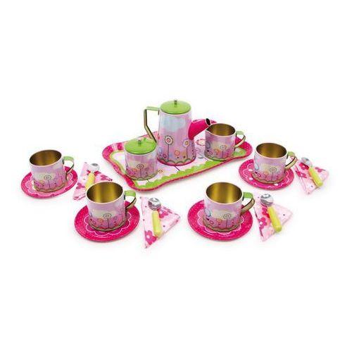 Metalowy serwis do herbaty dla dzieci