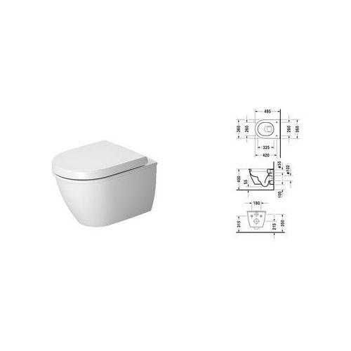 Duravit Darling New muszla wc podwieszana compact 2549090000 ()