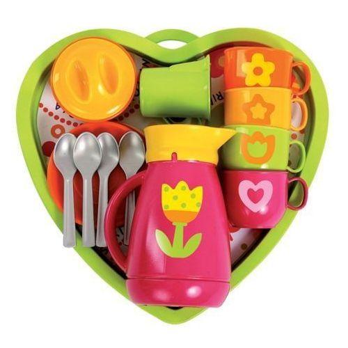 Serwis do Kawy z Tacą do zabawy dla dzieci - zestaw 18 elementów oferta ze sklepu www.epinokio.pl
