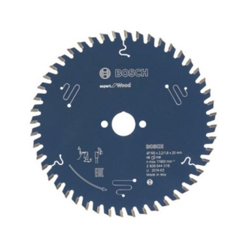 Tarcza pilarska Expert for Wood 160x20x2.2/1.6x48 T 2608644018 Bosch ze sklepu NEXTERIO