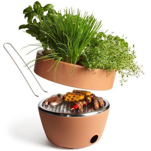 Grill węglowy z doniczką Black+Blum Hot Pot BBQ, produkt marki Produkty marki Black+Blum