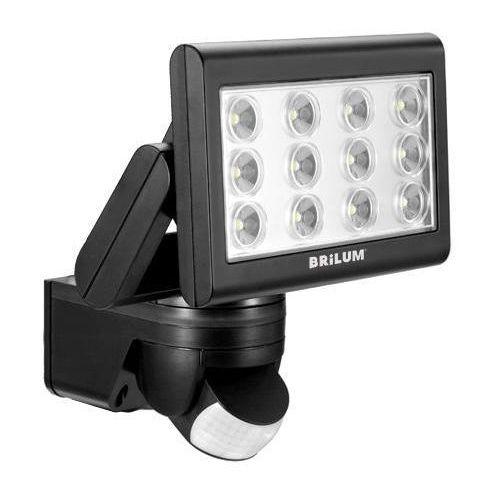 Halogen Reflektor Naświetlacz BRILUM AREN LED 25W czujnik ruchu i zmierzchu PIR, Brilum z sklep.BestLighting.pl Oświetlenie LED
