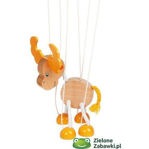 Oferta Drewniana marionetka łoś, goki (pacynka, kukiełka)