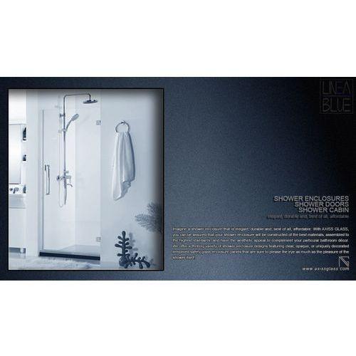 Drzwi prysznicowe AXISS GLASS AN6211WD 700mm L (drzwi prysznicowe)