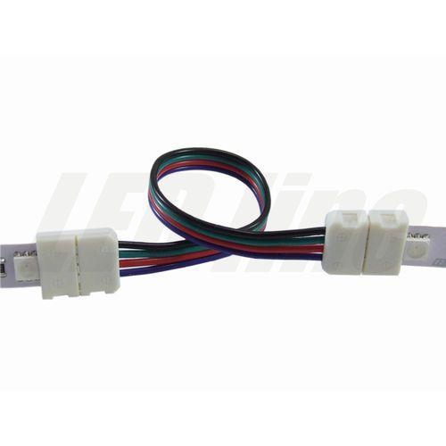 LED line Złączka CLICK podwójna do taśm LED RGB 10mm + przewód 14cm 3639 z kategorii oświetlenie