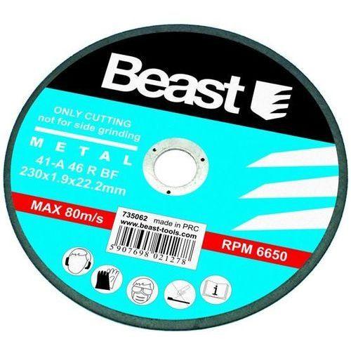TARCZA TNĄCA DO METALU 230x1.9 mm ze sklepu Beast Tools