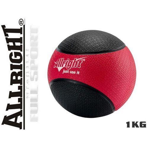 Produkt 1kg - Piłka lekarska Allright - gumowa
