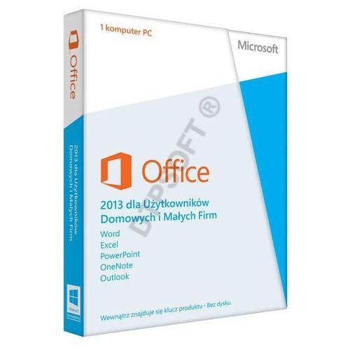 Microsoft Office Home and Business 2013 PL z kategorii Programy biurowe i narzędziowe
