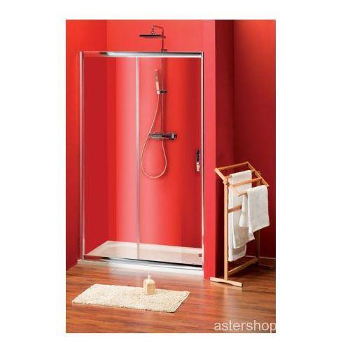 SIGMA drzwi prysznicowe do wnęki 100cm szkło czyste SG1240 (drzwi prysznicowe)
