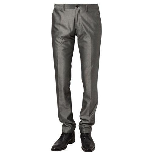 Produkt z kategorii- spodnie męskie - Bertoni Spodnie materiałowe szary