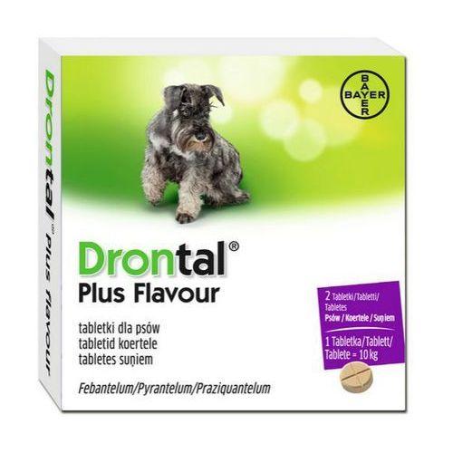 BAYER Drontal Plus Flavour tabletki na odrobaczenie dla psów - sprawdź w Fionka.pl