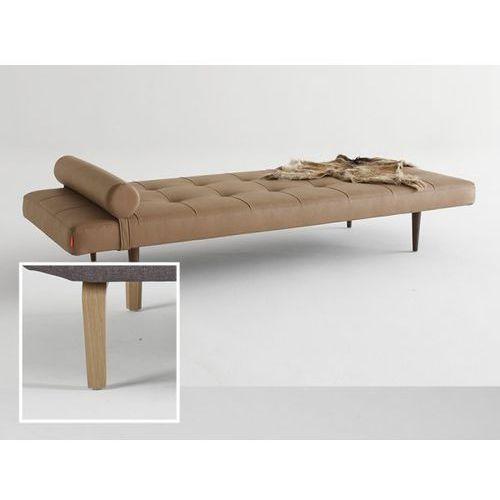 Sofa Napper brązowa 593 nogi dąb lakierowany  740030593-740030-5, INNOVATION iStyle