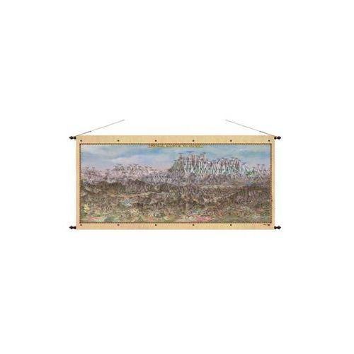 Małopolska Południowa Tatry mapa ścienna 97x47 cm , produkt marki Pergamena