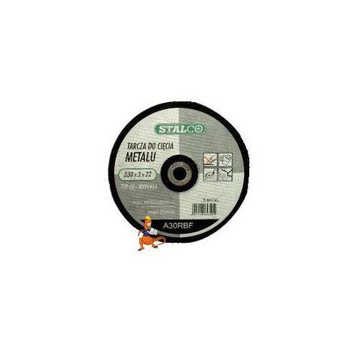 Oferta TARCZA DO CIĘCIA METALU WYPUKŁA 230x3, 0x22MM FIRMA STALCO (S-60230)
