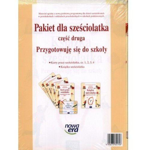Oferta Kształcenie zintegrowane, Przygotowuję się do szkoły, część 2, Nowa era, Pakiet - Dostawa zamówienia do jednej ze 170 księgarni Matras za DARMO [2564daa9bf8383f1]