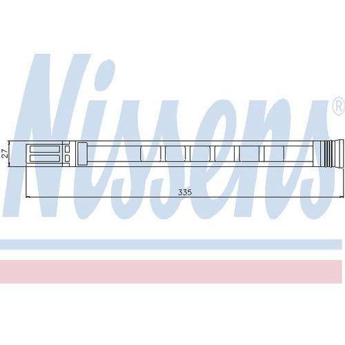 Towar z kategorii: osuszacze powietrza - Osuszacz, klimatyzacja NISSENS 95387