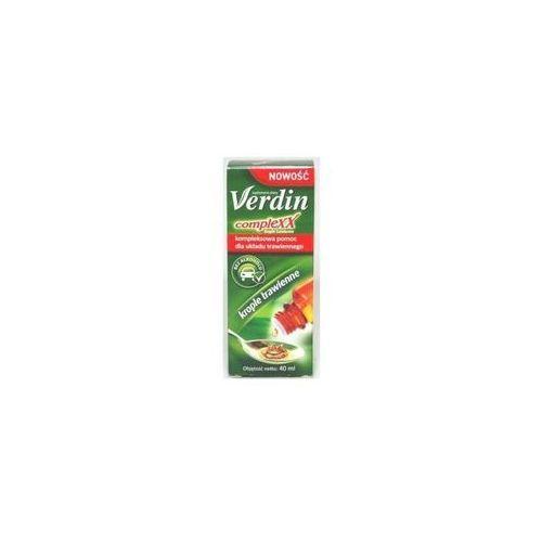 Oferta Verdin complexx krople trawienne 40 ml