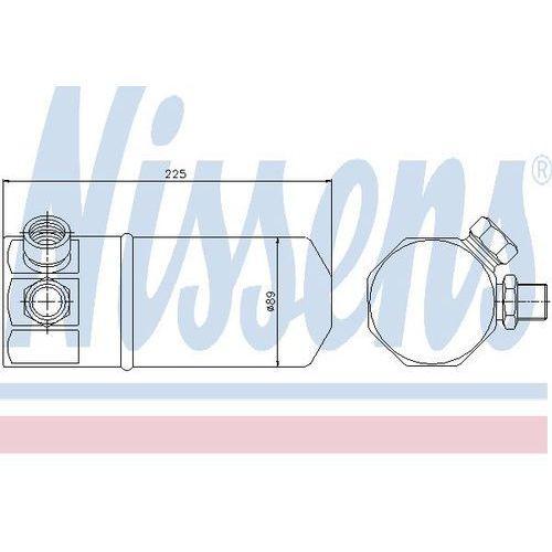 Towar z kategorii: osuszacze powietrza - Osuszacz, klimatyzacja NISSENS 95262