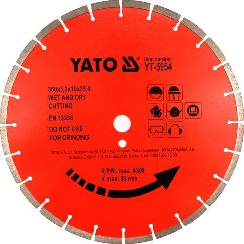Oferta Tarcza diamentowa do betonu 450x25.4 mm YT-5956