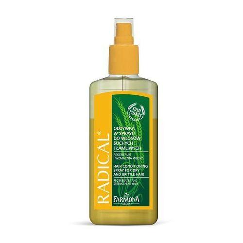 RADICAL Odżywka w sprayu do włosów suchych i łamliwych 200ml - produkt z kategorii- odżywki do włosów