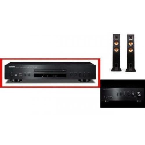 YAMAHA A-S301 + CD-S300 + KLIPSCH R-26 - wieża, zestaw hifi - zmontuj tanio swój zestaw na stronie